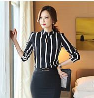 Стильная блузка в полоску, фото 1