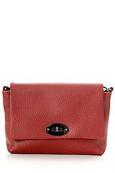 Diva's Bag Женская кожаная сумка LAIA цвет красный