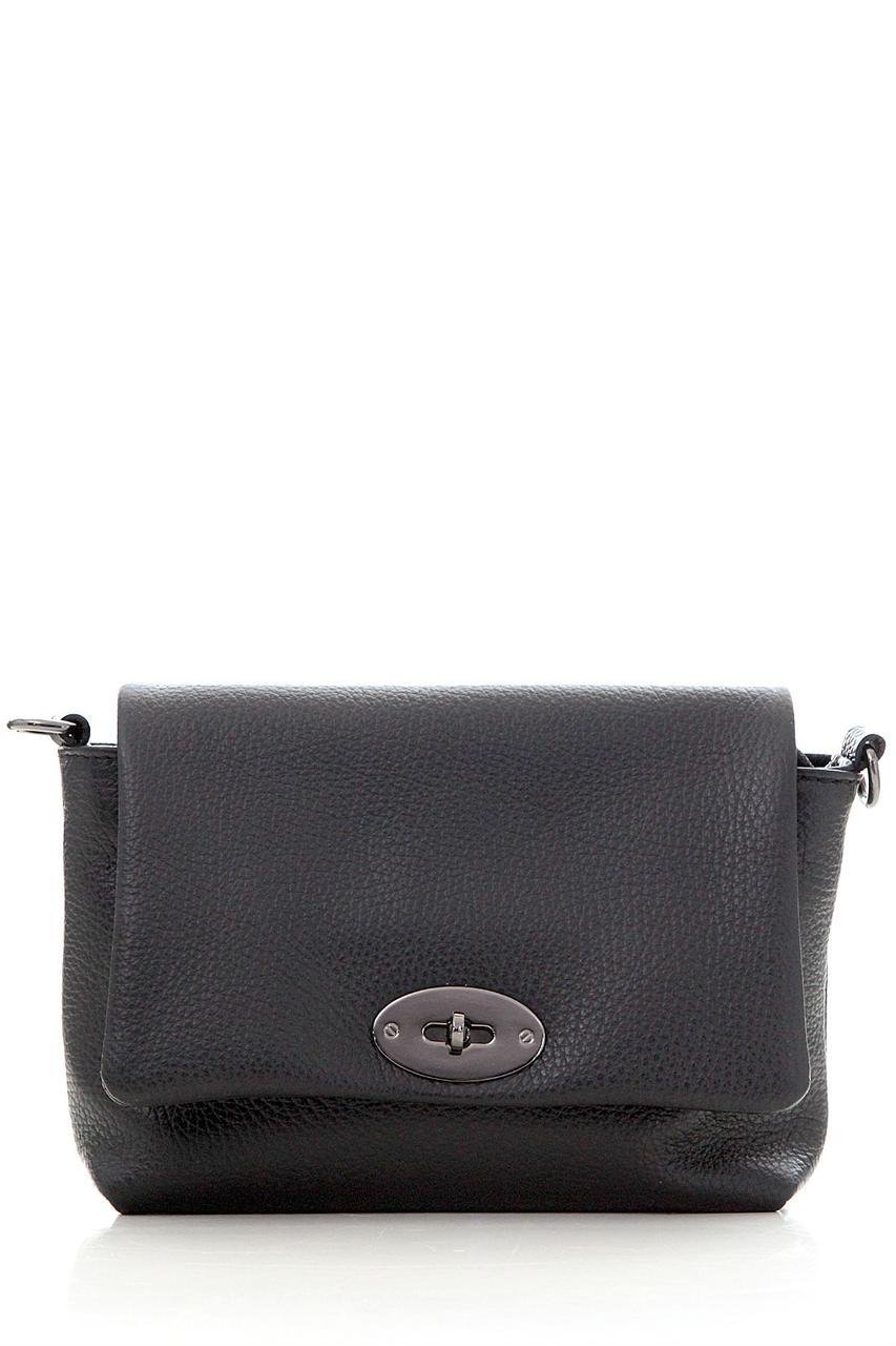 Diva's Bag Женская кожаная сумка LAIA цвет черный