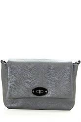 Diva's Bag Жіноча шкіряна сумка LAIA колір темно-сірий