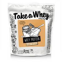 Смесь сывороточного протеина (Whey Protein Blend) со вкусом арахисового масла 907 г