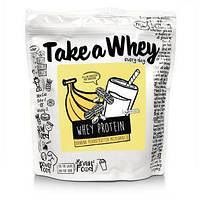 Смесь сывороточного протеина (Whey Protein Blend) со вкусом бананового арахисового масла 907 г