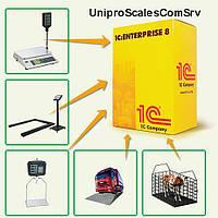 Драйвер для передачи данных с весов в 1С