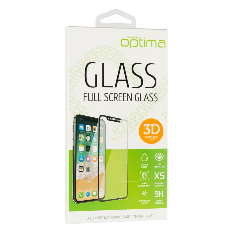 Защитное стекло Optima 3D for Xiaomi Redmi Note 8 Pro Black