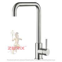 Смеситель для кухни из нержавеющей стали ZERIX SUS-G
