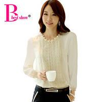 Стильная блузка с кружевом, фото 1