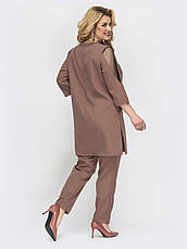 Повседневный костюм для больших женщин, фото 2