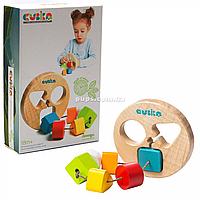 Деревянная игрушка Сортер круглый LT-1 Cubika (14361)