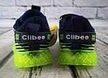 Кросівки для хлопчиків Синій, підошва з підсвічуванням Clibee Румунія, фото 3