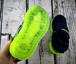 Кросівки для хлопчиків Синій, підошва з підсвічуванням Clibee Румунія, фото 4