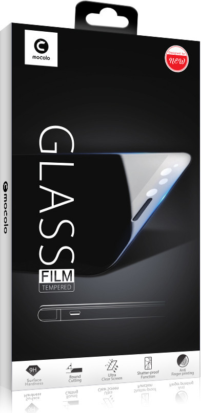 Защитное стекло Mocolo (full glue) Samsung Galaxy J8 (2018) Черный