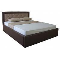 Кровать IRMA lift 1600x2000 beige/brown (E2424)