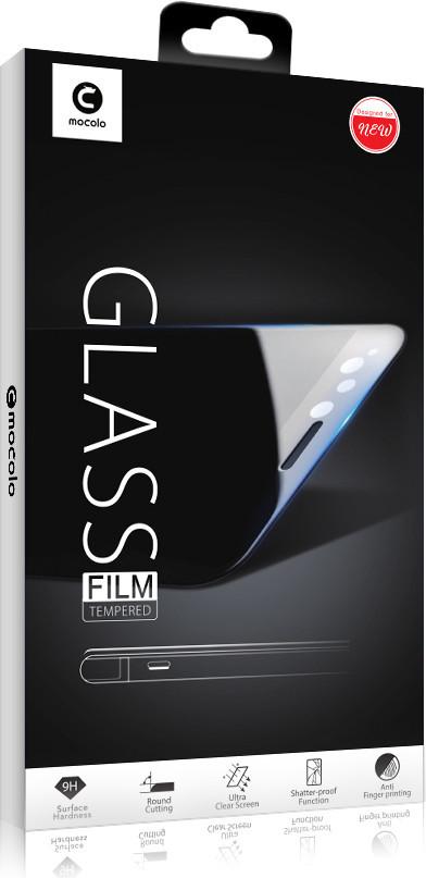 Захисне скло Mocolo (full glue) Samsung A920 Galaxy A9 (2018) Чорний