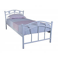 Детская односпальная кровать Eagle  MARLENA 900х2000 white (E2110)