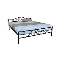 Двуспальная кровать LUCCA 1400x2000 black (E1922)