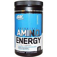 Энергетическая добавка с незаменимыми аминокислотами (ON Essential Amino Energy) со вкусом голубой малины 270 г