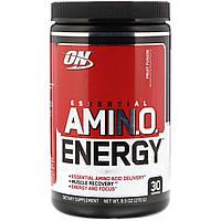Энергетическая добавка с незаменимыми аминокислотами (ON Essential Amino Energy) с фруктовым вкусом 270 г