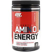 Энергетическая добавка с незаменимыми аминокислотами (ON Essential Amino Energy) со вкусом клубники-лайма 270 г