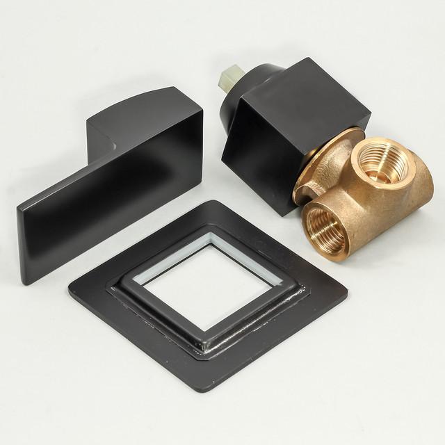Душевая система для гигиенический душа BSGD-02 со смесителем скрытого монтажа джойстикового типа.