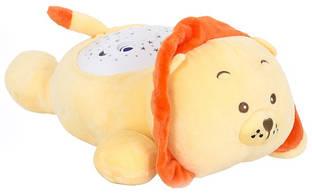 Мягкая игрушка с проектором Funmuch Львенок FM666-10
