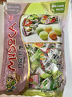 Конфеты Milk Soft Candy с молоком и фруктами 300г (Вьетнам)