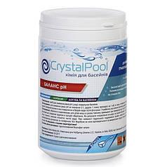 Для понижения уровня pH воды Crystal Pool pH Minus 1 кг
