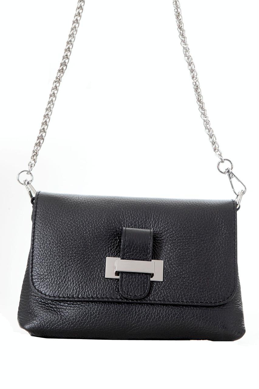Diva's Bag Женская кожаная сумка RIAN цвет черный
