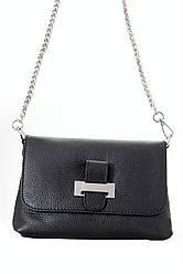 Diva's Bag Жіноча шкіряна сумка RIAN колір чорний