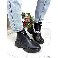 Зимние ботинки  , фото 1