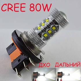 Светодиодная лампа SLP LED Cree 80W с цоколем H15 (PGS23t-1) Белый