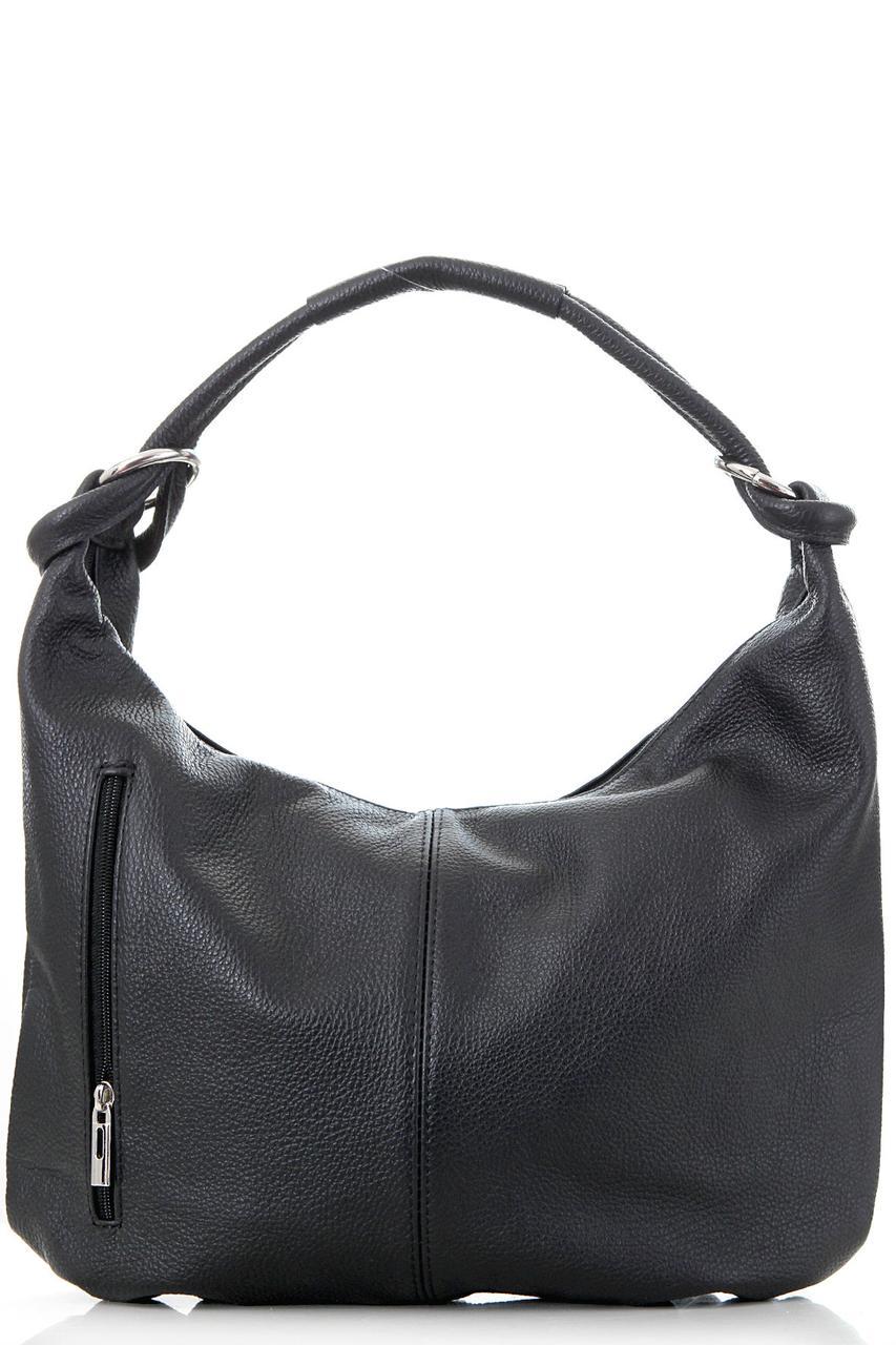 Diva's Bag Женская кожаная сумка REBA цвет черный