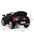 Детский электромобиль Bambi M 2773EBLR-2 черный, фото 4