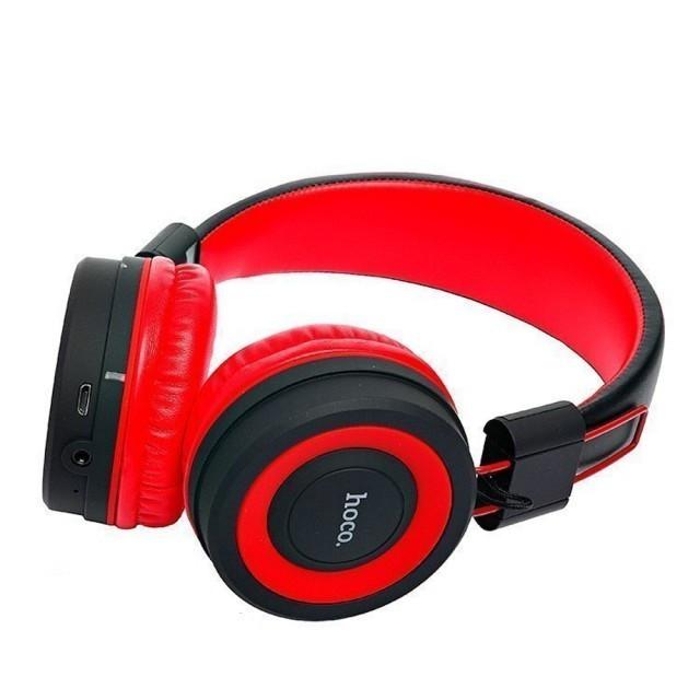 Наушники Hoco W16 Cool motion bluetooth headphones Red