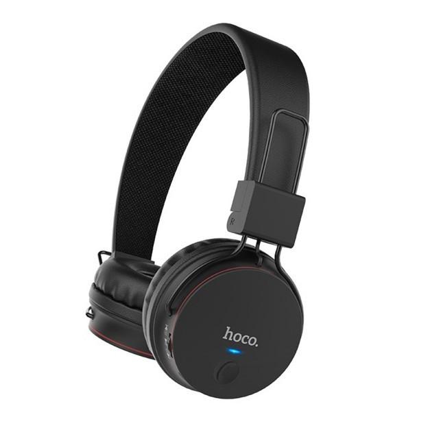 Наушники Hoco W19 Easy move wireless headset Black