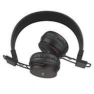Наушники Hoco W19 Easy move wireless headset Black, фото 2