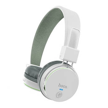 Наушники Hoco W19 Easy move wireless headset White