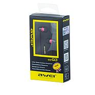 Наушники Awei ES-Q3 Pink, фото 2