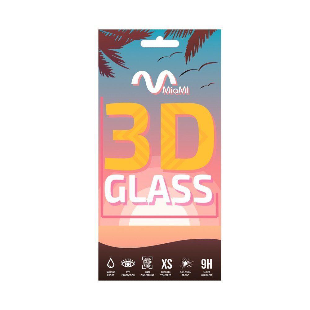 Защитное стекло Miami 3D Samsung A8 Plus 2018 / A830 - Full Glue Glass Black