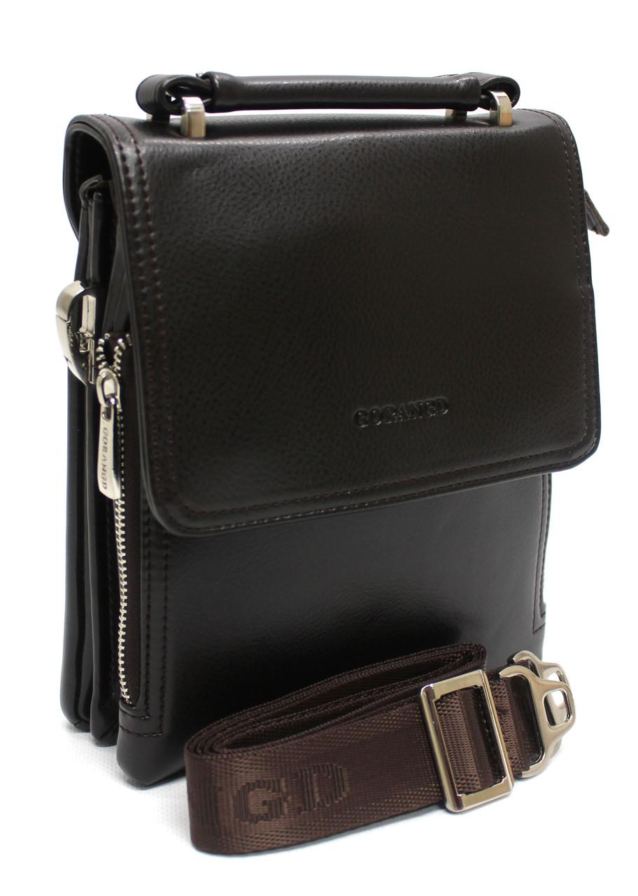 Мужская сумка-планшетка  через плечо, барсетка ''Gorangd YR 18688-1''