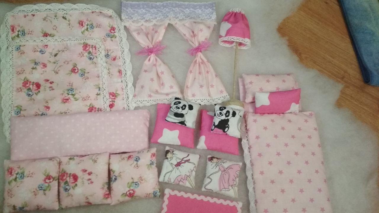 Текстиль для кукольной мебели
