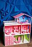 Кукольный домик KiddyRoom 3 этажа Цветной, фото 2
