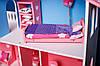 Кукольный домик KiddyRoom 3 этажа Цветной, фото 4