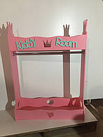 Напольная Вешалка детская Kiddyroom Розовый