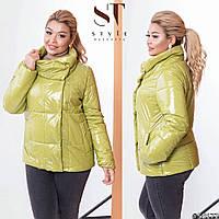 Куртка женская демисезонная (4 цвета) ВШ/-1177 - Оливка, фото 1