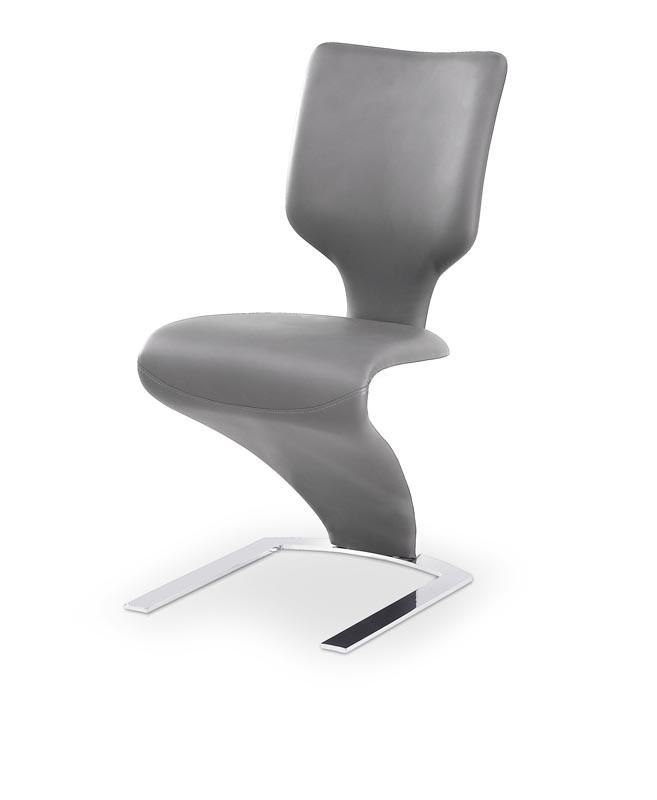 Стул K-301 светло серый/серый (Halmar)
