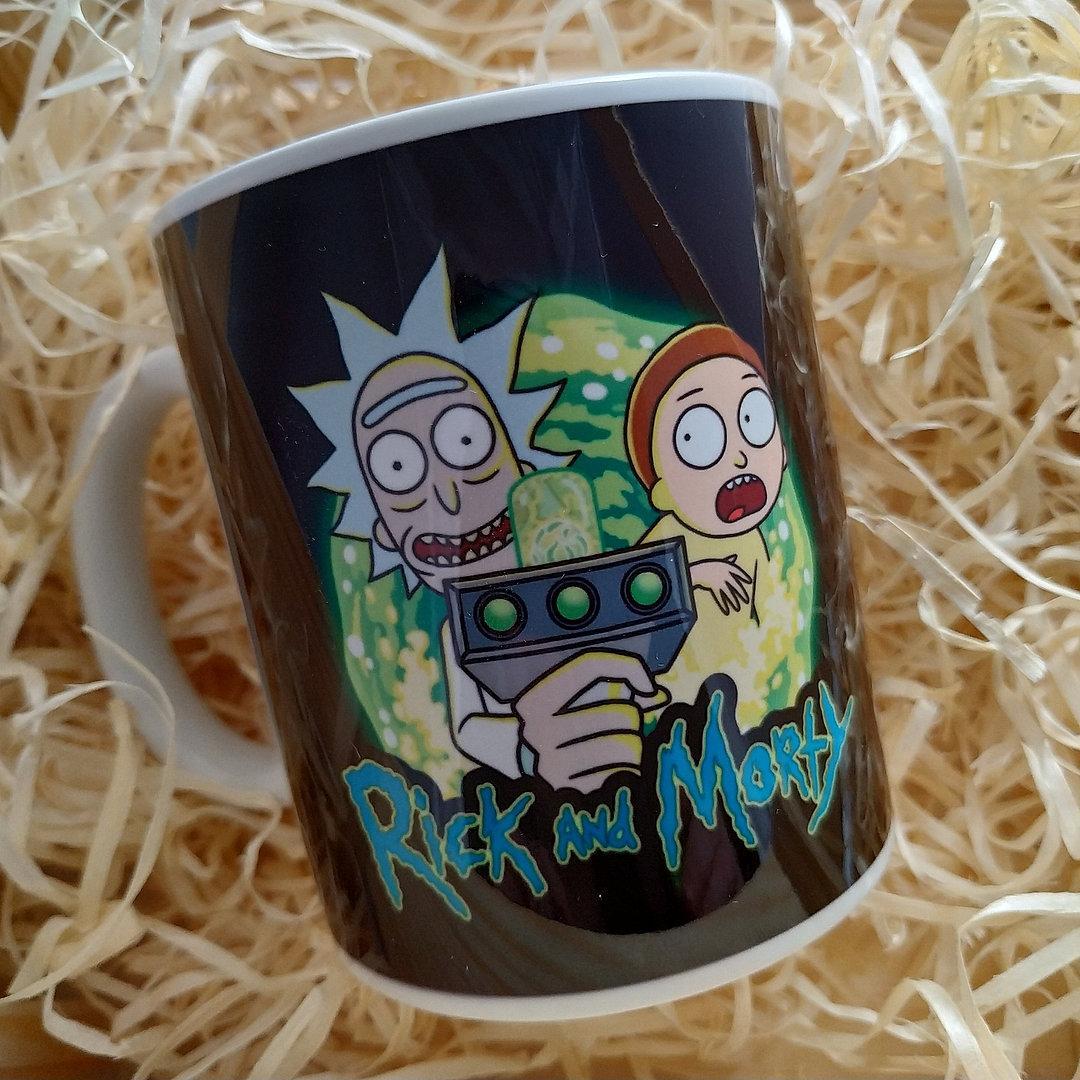 """Кружка """"Rick and Morty. Портал"""", 310мл"""