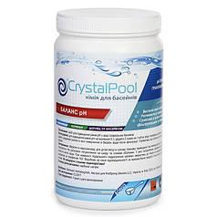 Для повышения уровня pH в воде Crystal Pool pH Plus 1кг.