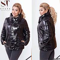 Куртка женская демисезонная (4 цвета) ВШ/-1177 - Черный, фото 1