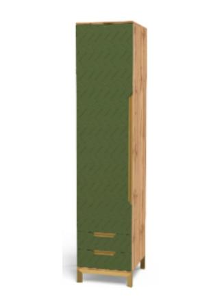 Шафа-пенал Art-In-Head АШ-17 SWAN балі зелений
