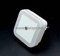 Ночник светодиодный с датчиком квадрат Белая №250